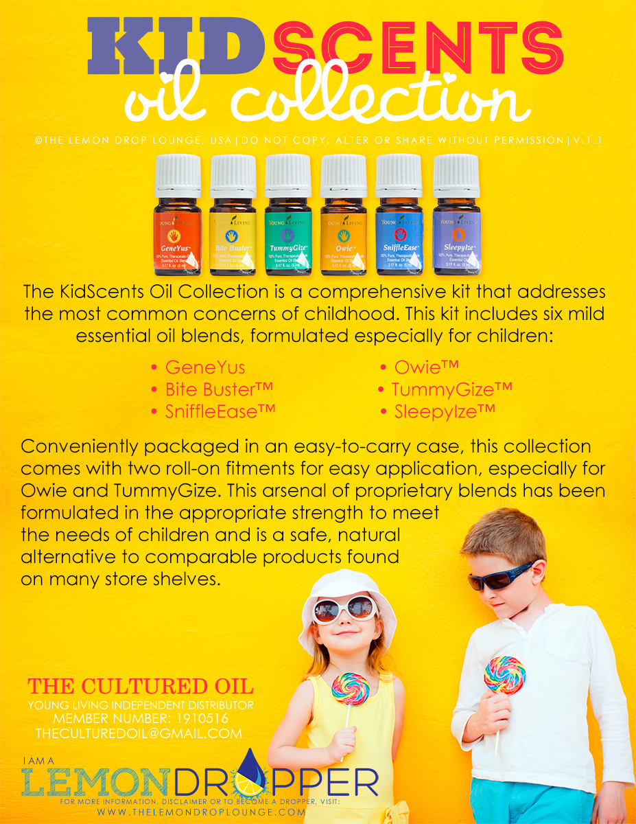 Introducing The Kidscents 174 Oil Collection From Young